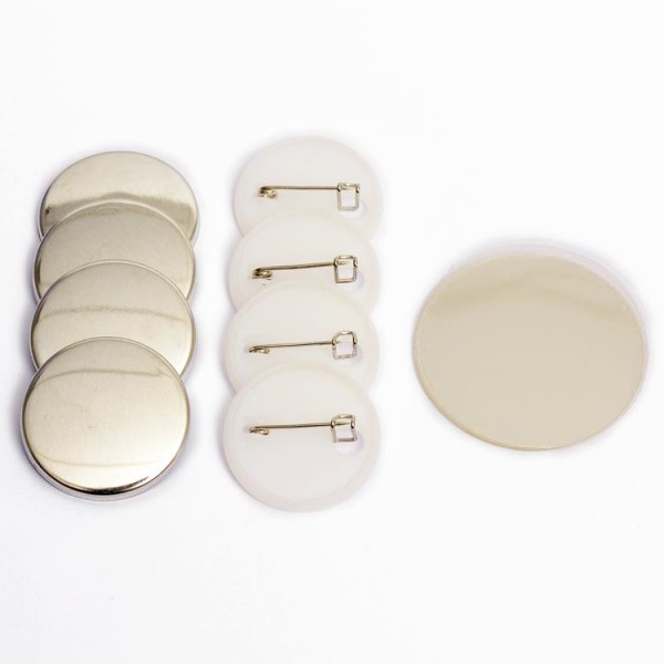 Buttonrohlinge 25mm Sicherheitsnadel