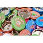 25mm Standard Buttons mit eigenem Motiv