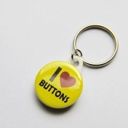25mm Schlüsselanhänger mit eigenem Motiv