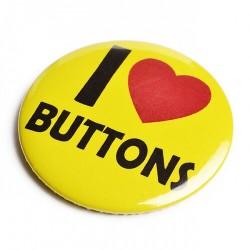 58mm Button mit flacher Rückseite (Flatback) mit eigenem Motiv