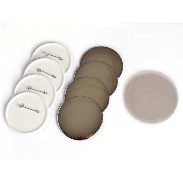 Buttonrohlinge 58mm Sicherheitsnadel